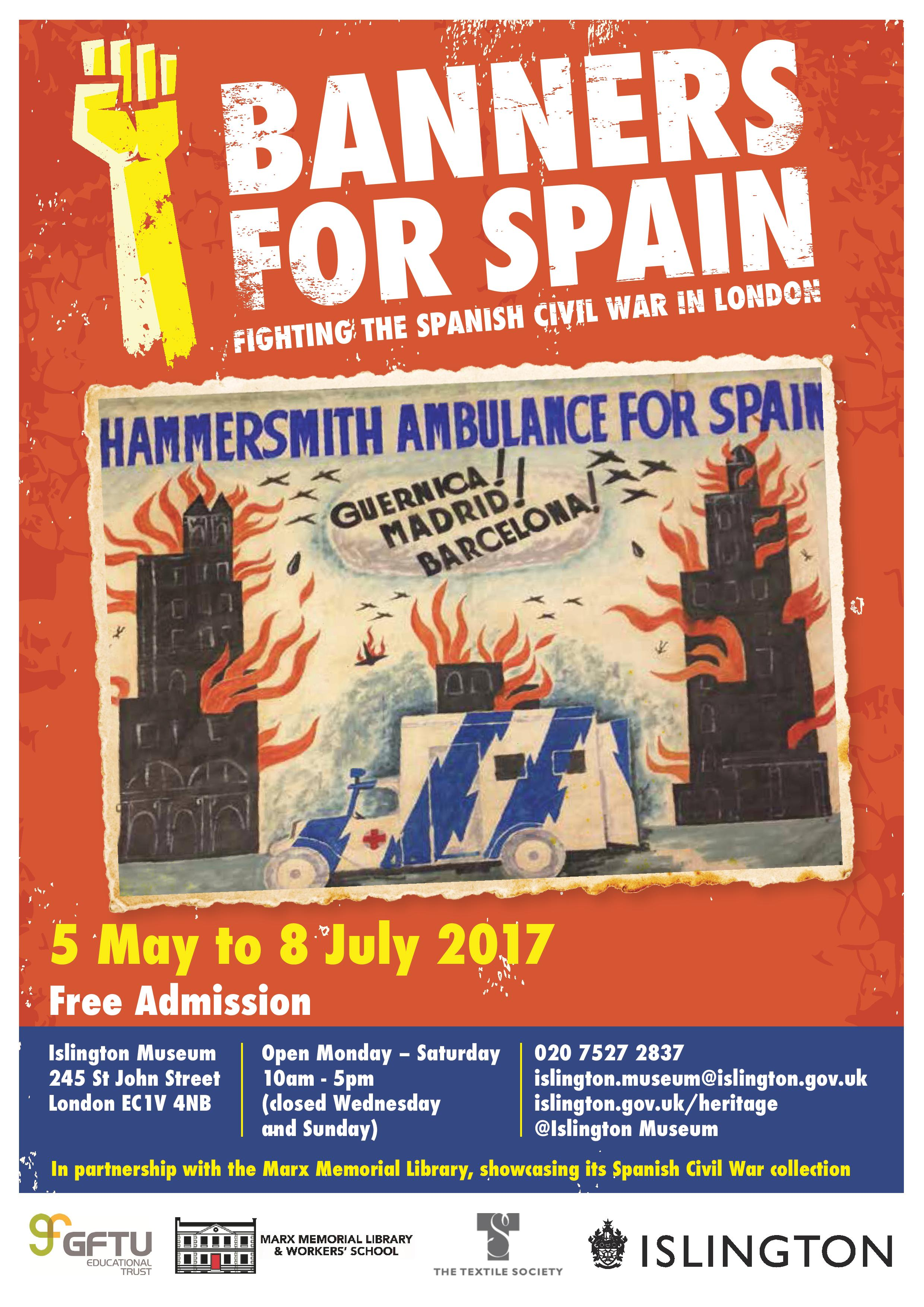 Spanish Civil War Exhibition poster A4 v4-page-001