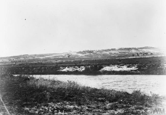 Q12297 Battle of Jaffa Auja River and Mullebis near where JC won VC