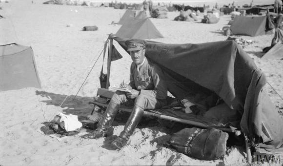 Q57798 Lt Col SC Byrne at Bir El Mazar