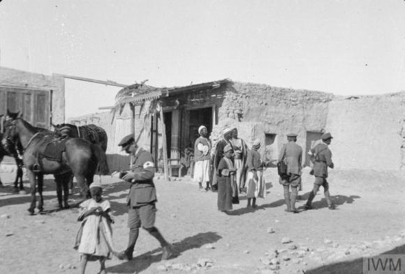 Q57734 talking to shopkeepers in El Arish