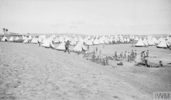 Q57803 1 11 in camp at El Arish