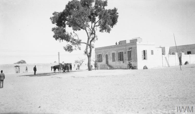 Q57829 Column HQ at El Arish
