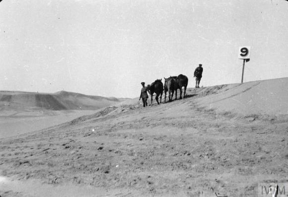 Q57887 no 9 post right flank of El Arish.