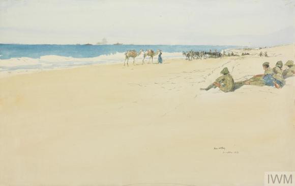 Sea at Gaza James Mc bey