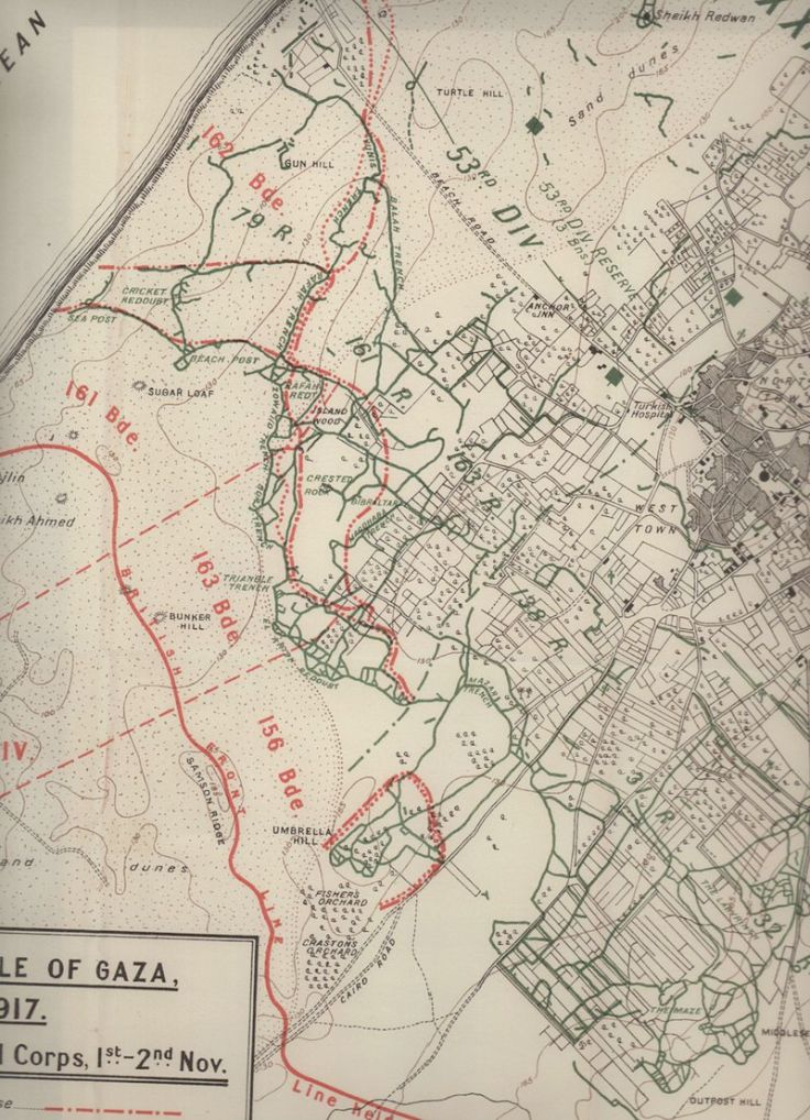 3rd Gaza Gun Hill 1-2 Nov