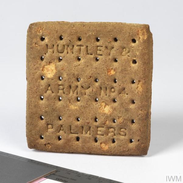 Army Biscuits ww1 IWM