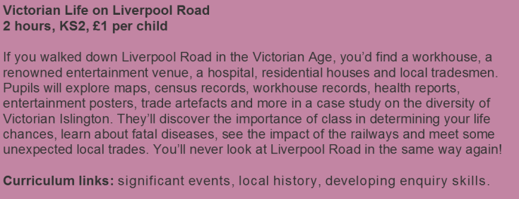Victorian Life Graphic Website