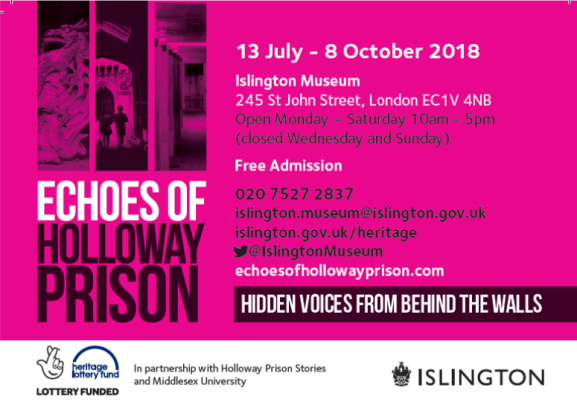 Echoes of Holloway Prison 2018