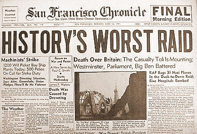 SF Chronicle 12 May 1941