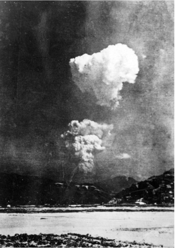 The Hiroshima atom bomb cloud 2–5 minutes after detonation