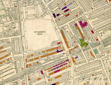 WW2 Bomb Damage Map (Barnsbury)