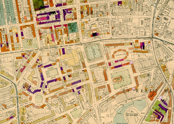 WW2 Bomb Damage Map (Clerkenwell)