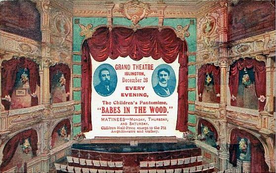 Babes in the Wood at the Grand Theatre, Islington