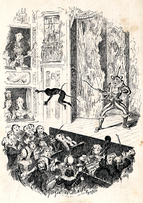 1 Grimaldi's first performance (1781)