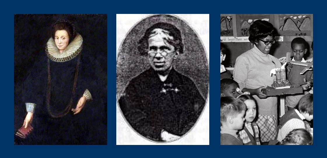 Dame Alice Owen, Matilda Sharpe and Yvonne Conolly
